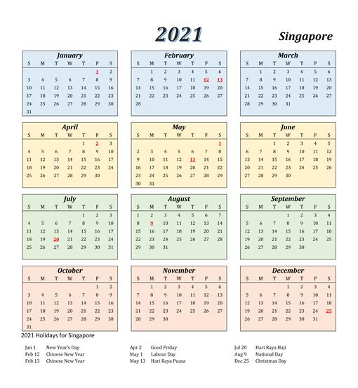 Alliance Francaise Singapore Term Calendar